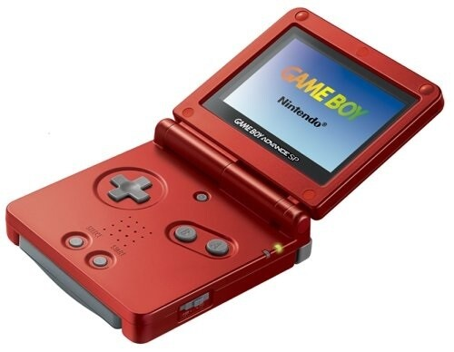 GAMEBOY ADVANCE SP FLAME (usagé)