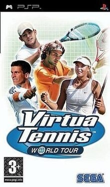 VIRTUA TENNIS WORLD TOUR (COMPLETE IN BOX) (usagé)