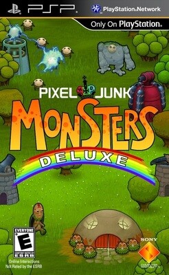 PIXEL JUNK MONSTERS DELUXE (COMPLETE IN BOX)