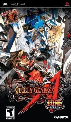 GUILTY GEAR XX CORE PLUS (COMPLETE IN BOX) (usagé)