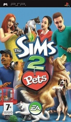 THE SIMS 2 PETS (COMPLETE IN BOX) (usagé)