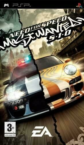 NEED FOR SPEED MOST WANTED 5-1-0 (COMPLETE IN BOX)