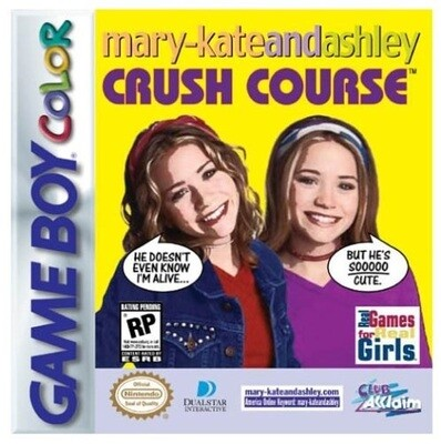 MARY-KATE AND ASHLEY CRUSH COURSE (usagé)