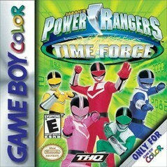 POWER RANGERS TIME FORCE (usagé)