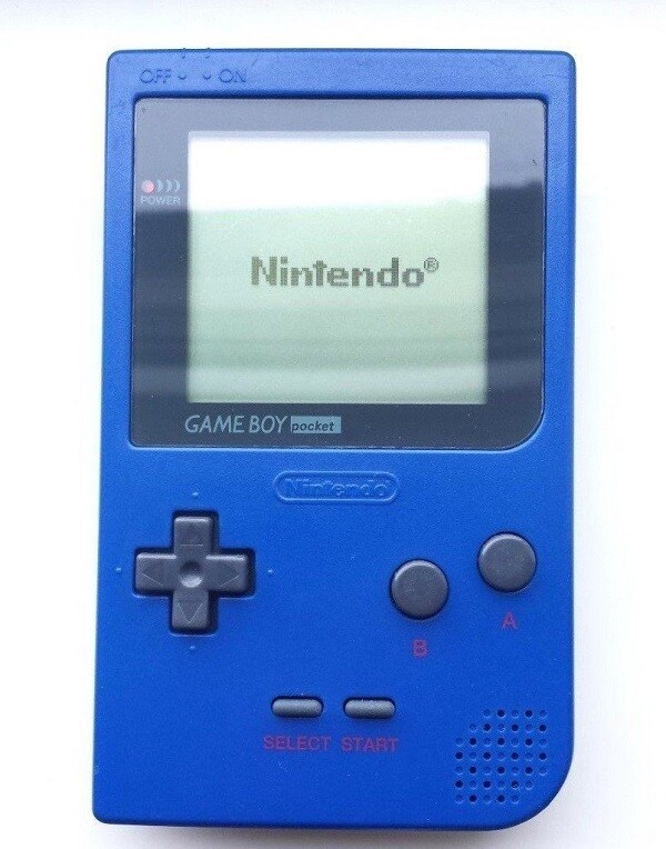 GAMEBOY POCKET BLUE