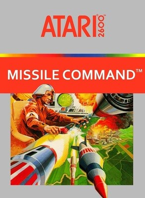 ATARI 2600 MISSILE COMMAND (COMPLETE IN BOX) (usagé)