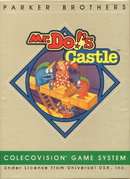 COLECOVISION MR. DO'S CASTLE (COMPLETE IN BOX)
