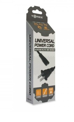 AC ADAPTER UNIVERSAL (PS3 SLIM, PS4, PS2, PS1, DREAMCAST, XBOX)