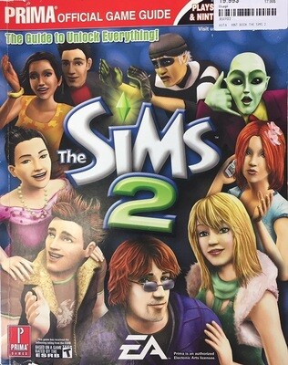 HINT BOOK THE SIMS 2 (usagé)