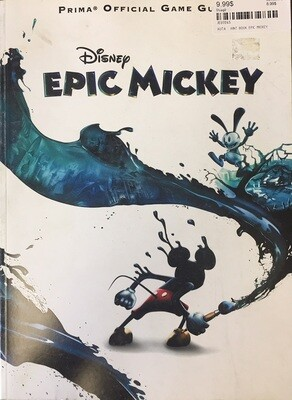 HINT BOOK EPIC MICKEY (usagé)