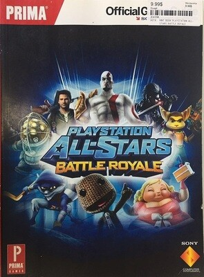 HINT BOOK PLAYSTATION ALL-STARS BATTLE ROYALE (usagé)