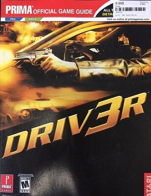 HINT BOOK DRIV3R (usagé)