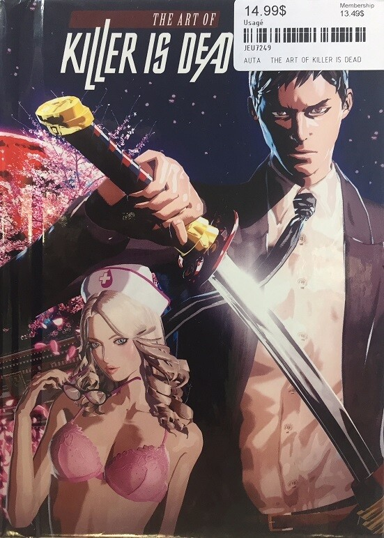 THE ART OF KILLER IS DEAD