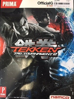 HINT BOOK TEKKEN TAG TOURNAMENT 2 (usagé)