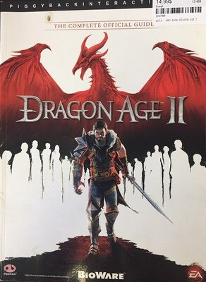 HINT BOOK DRAGON AGE 2 (usagé)
