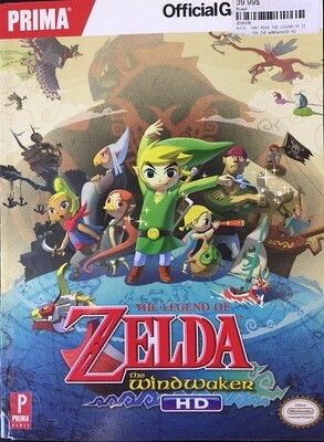 HINT BOOK THE LEGEND OF ZELDA THE WINDWAKER HD (usagé)