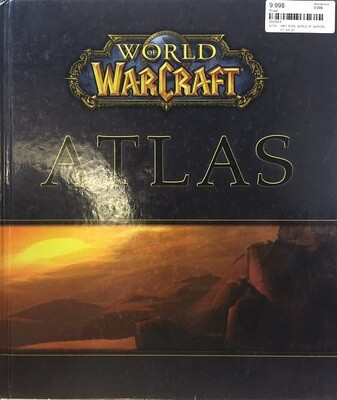 HINT BOOK WORLD OF WARCRAFT ATLAS (usagé)
