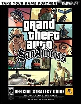 HINT BOOK GRAND THEFT AUTO SAN ANDREAS (usagé)