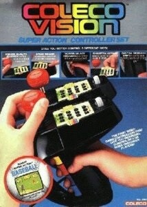 COLECOVISION SUPER ACTION CONTROLLER SET (COMPLETE IN BOX) (usagé)