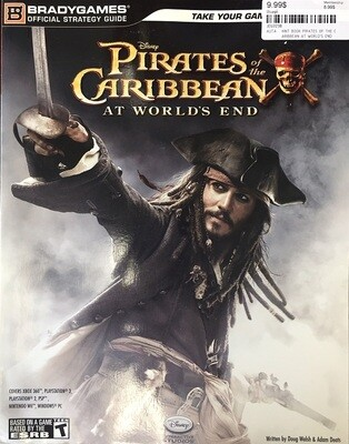 HINT BOOK PIRATES OF THE CARIBBEAN AT WORLD'S END (usagé)