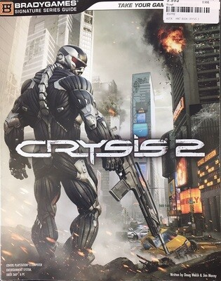 HINT BOOK CRYSIS 2 (usagé)