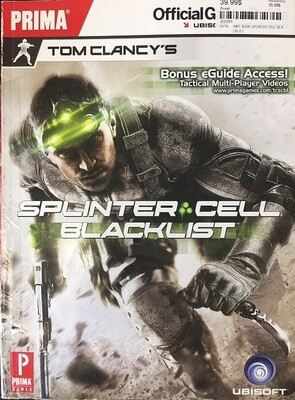 HINT BOOK SPLINTER CELL BLACKLIST (usagé)