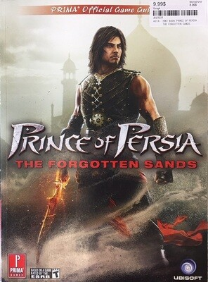 HINT BOOK PRINCE OF PERSIA THE FORGOTTEN SANDS (usagé)