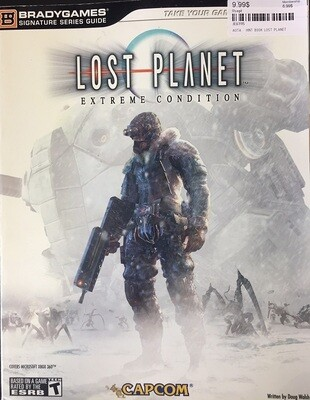 HINT BOOK LOST PLANET (usagé)