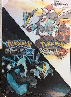 HINT BOOK POKEMON BLACK & WHITE VERSION 2.0 (usagé)