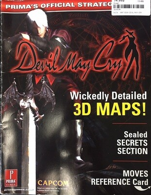 HINT BOOK DEVIL MAY CRY (usagé)
