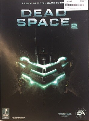 HINT BOOK DEAD SPACE 2 (usagé)