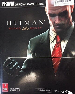 HINT BOOK HITMAN BLOOD MONEY (usagé)