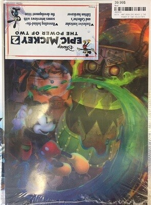 HINT BOOK EPIC MICKEY 2 THE POWER OF TWO COLLECTOR'S EDITION