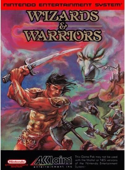 WIZARDS AND WARRIORS (usagé)