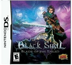 BLACK SIGIL BLADE OF THE EXILED (COMPLETE IN BOX) (usagé)