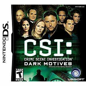 CSI DARK MOTIVES (usagé)