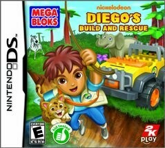 GO DIEGO GO MEGA BLOCKS BUILD AND RESCUE (usagé)
