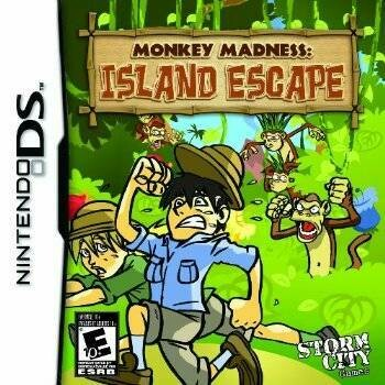 MONKEY MADNESS ISLAND ESCAPE (usagé)