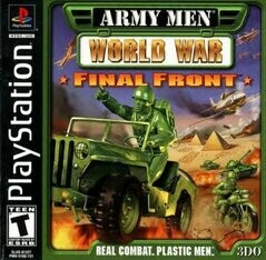 ARMY MEN WORLD WAR FINAL FRONT (COMPLETE IN BOX) (usagé)