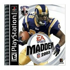 MADDEN 2003 (COMPLETE IN BOX) (usagé)
