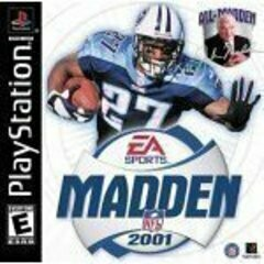 MADDEN 2001 (COMPLETE IN BOX) (usagé)
