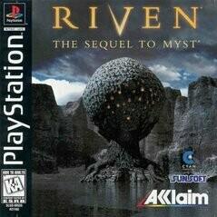 RIVEN THE SEQUEL TO MYST (usagé)