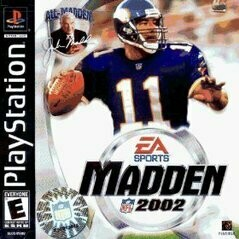 MADDEN 2002 (COMPLETE IN BOX) (usagé)