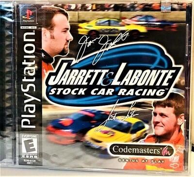 JARRETT AND LABONTE STOCK CAR RACING (COMPLETE IN BOX) (usagé)