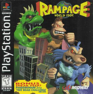 RAMPAGE WORLD TOUR (usagé)