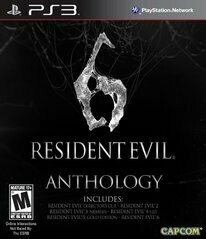 RESIDENT EVIL 6 ANTHOLOGY COLLECTORS EDITION