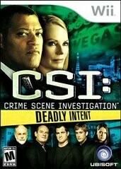 CSI 5 DEADLY INTENT (COMPLETE IN BOX)