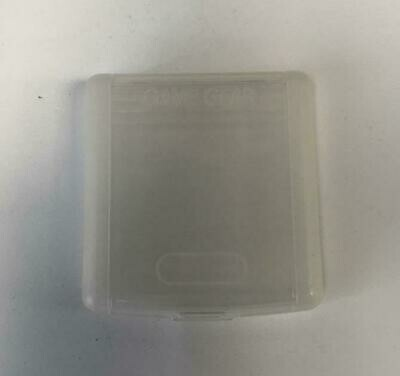 GAME GEAR CASE CARTRIDGE PROTECTOR CLEAR (SEGA) (usagé)