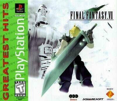 FINAL FANTASY 7 GREATEST HITS (COMPLETE IN BOX) (usagé)