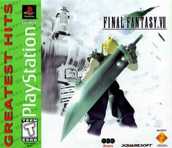 FINAL FANTASY 7 GREATEST HITS (COMPLETE IN BOX)